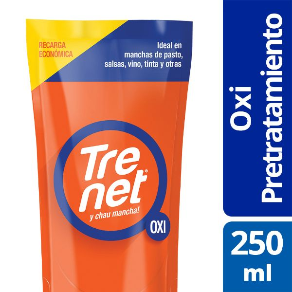 Quitamancha Trenet oxi repuesto 250 ml