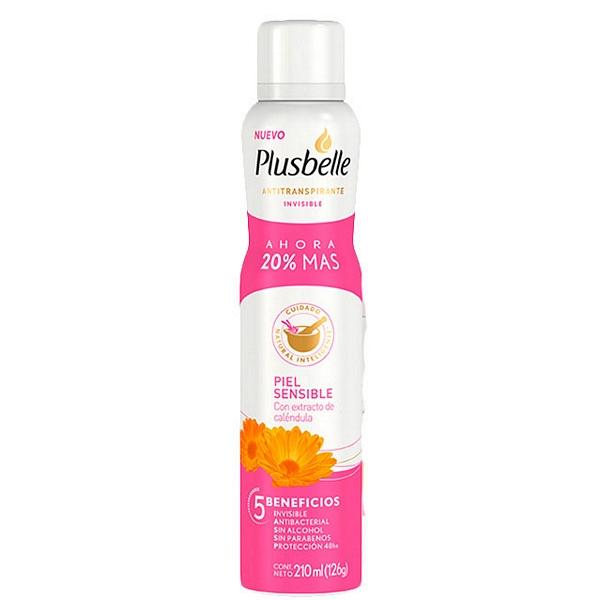 Plusbell rosa 175 ml aerosol fem