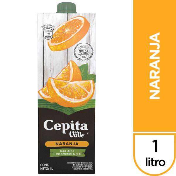 Cepita Naranja Tetra 0.25 1L