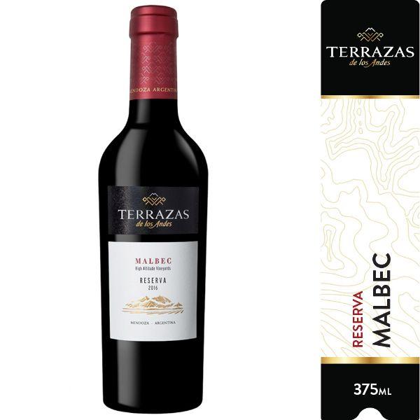 Vino Terrazas Reserva Malbec Botella X 375 Cc