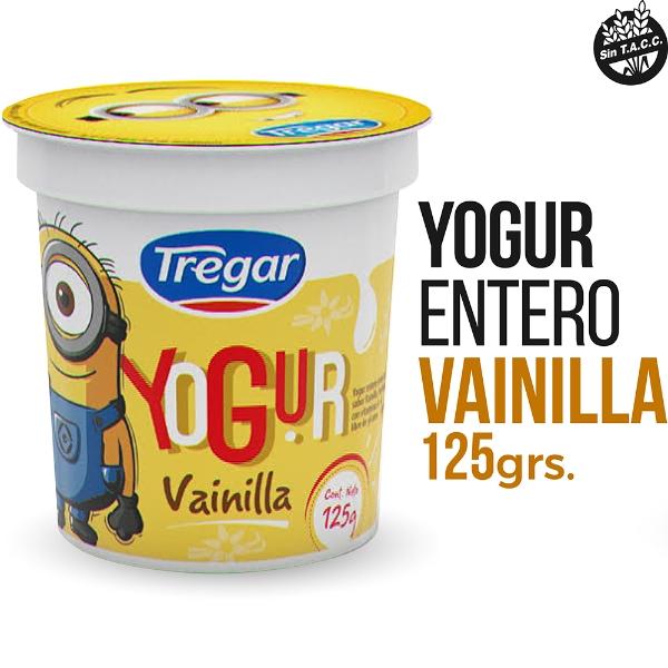 TREGAR YOGUR VAINILLA X 125 GRS
