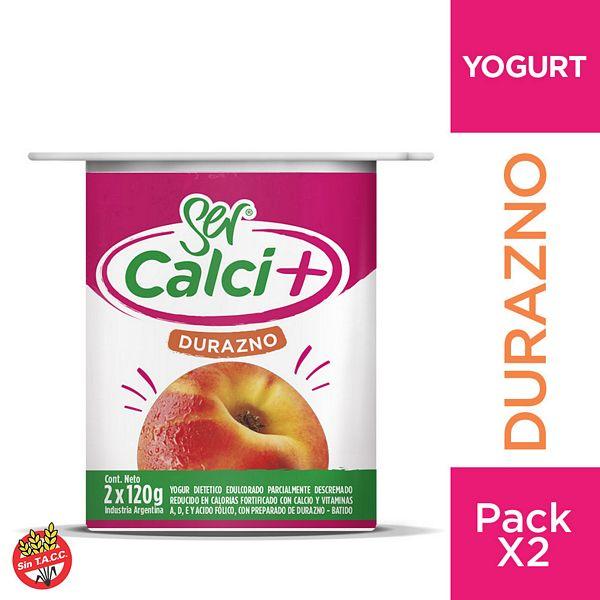 Yogur SER calcio dzno 240 grs