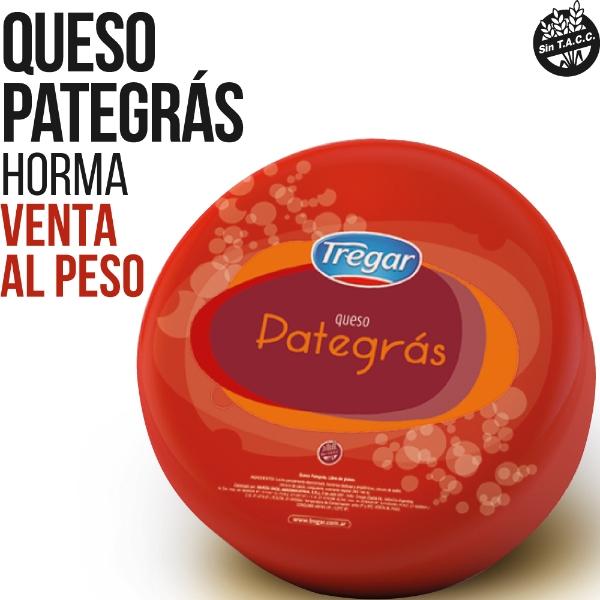 TREGAR QUESO PATEGRAS X KG