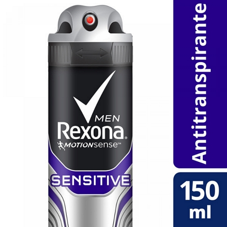 DESODORANTE REXONA MEN SENSITIVE X 90 GR.