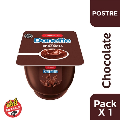 POSTRE DANETTE CHOCOLATE  X 95 GR.