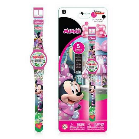 RELOJ DIGITAL 5 FUNCIONES MINNIE BOUTIQUE  X UN. - ART. MNRJ6B