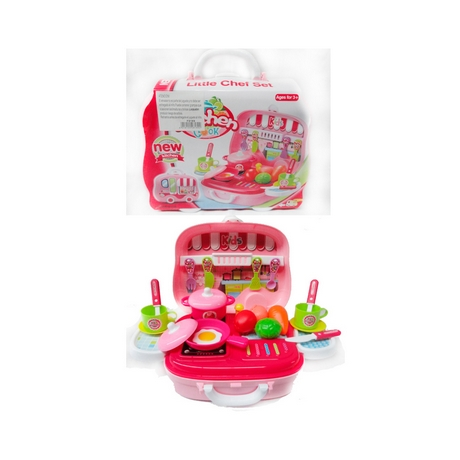 SET DE COCINA LITTLE CHEF SET KITCHEN COOKX UN.-ART F8189