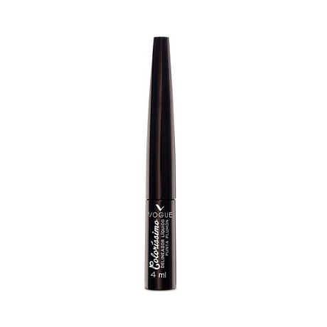 VOGUE COLORISSIMO DELINEADOR LIQUIDO NEGRO X 4 ML.