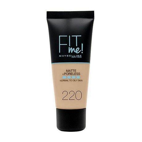 MAYBELLINE FIT ME MATE BASE DE MAQUILLAJE LIQUIDA 220 NATURAL X 30 ML.
