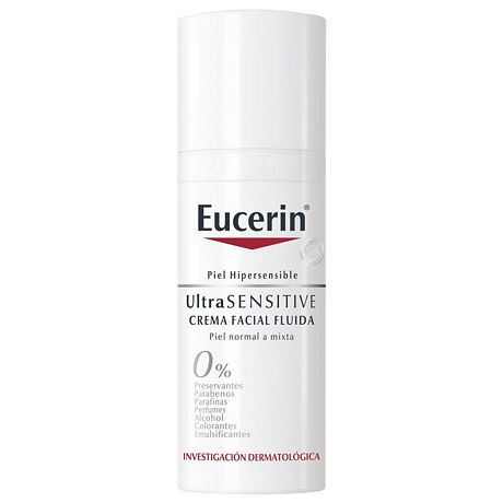 EUCERIN ULTRASENSITIVE CREMA FLUIDA X 50 ML.