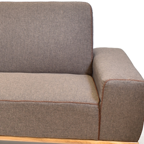 SILLON COLOR CHOCOLATE 197X87X89 CM X UN-ART CN330-1803-1