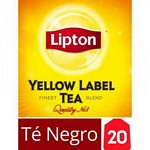 TE LIPTON YELLOW LABEL X 20 UN.