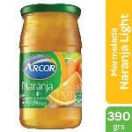 MERMELADA ARCOR LIGHT NARANJA FRASCO X 390 GR.