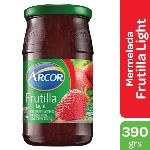 MERMELADA ARCOR LIGHT FRUTILLA FRASCO X 390 GR.