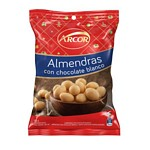 ALMENDRAS CON CHOCOLATE BLANCO ARCOR X 100 GR.