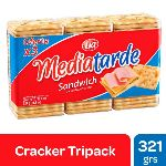 GALLETAS MEDIATARDE SANDWICH X 321 GR.