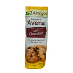 GALLETAS 3 ARROYOS AVENA CHOCOLATE X 150 GR.