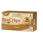 GALLETAS DE ARROZ RICE CRISPS CON SESAMO X 100 GR.