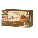 GALLETAS DE ARROZ INTEGRAL RICE CRISPS ORIGINAL X 100 GR.
