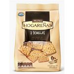GALLETAS MINI HOGAREÑAS 7 SEMILLAS X 250 GR.