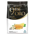 GALLETAS 9 DE ORO BRIGITTE CHOCOLATE RELLENO LIMON X 160 GR.