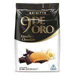 GALLETAS 9 DE ORO BRIGITTE CHOCOLATE RELLENO CHOCOLATE X 160 GR.
