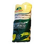 GALLETAS DE ARROZ GRANDIET CON SAL X 100 GR.
