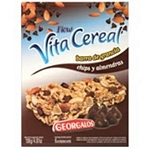 BARRA DE CEREAL FLOW CEREAL CHIPS DE CHOCOLATE Y ALMENDRAS X 6 UN.