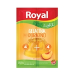 GELATINA ROYAL DURAZNO LIGHT X 25 GR.