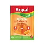 GELATINA ROYAL NARANJA LIGHT X 25 GR.