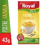 POSTRE ROYAL VAINILLA LIGHT X 43 GR.