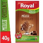 MOUSSE ROYAL CHOCOLATE LIGHT X 40 GR.