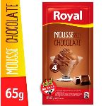 MOUSSE ROYAL CHOCOLATE X 65 GR.