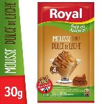 MOUSSE ROYAL DULCE DE LECHE LIGHT X 30 GR.