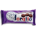 ALFAJOR JORGITO MOUSSE BAÑO CHOCOLATE X 6 UN.