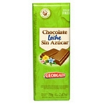 CHOCOLATE GEORGALOS SIN AZUCAR X 70 GR.