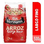 ARROZ DOS HERMANOS LARGO FINO X 500 GR.
