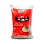 ARROZ DOS HERMANOS LARGO FINO X 5 KG.