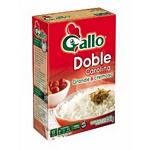 ARROZ GALLO DOBLE CAROLINA ESTUCHE X 1 KG.