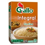 ARROZ GALLO INTEGRAL ESTUCHE X 1 KG.