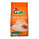 ARROZ GALLO LARGO FINO X 1 KG.