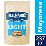 MAYONESA HELLMANNS LIGHT DOY PACK X 237 GR.