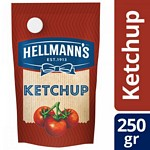 KETCHUP HELLMANNS DOY PACK X 250 GR.