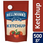 KETCHUP HELLMANNS DOY PACK X 500 GR.