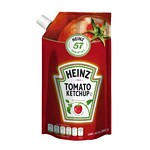 KETCHUP HEINZ DOY PACK X 397 GR.