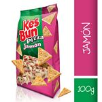 GALLETAS KESBUN PIZZA JAMON X 100 GR.