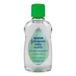 ACEITE JOHNSON BABY ALOE VERA + VITAMINA E X 100 ML.