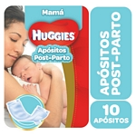 APOSITOS HUGGIES POST PARTO MAMA X 10 UN.