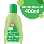 ACONDICIONADOR JOHNSON BABY CABELLO CLARO X 400 ML.