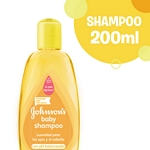 SHAMPOO JOHNSON BABY FIFA GOLD X 200 ML.